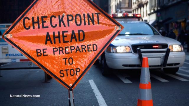 Checkpoint Ahead Sign - 治療