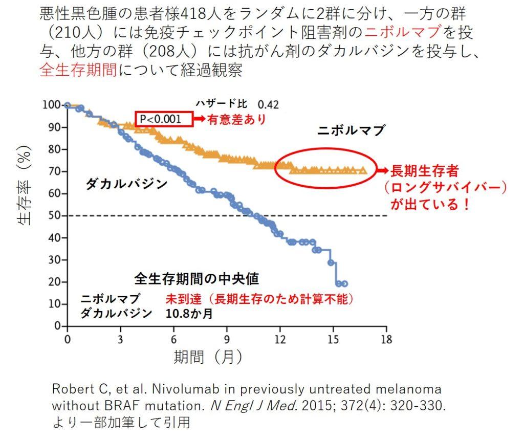 Nivolumab vs Dacarbazine clinical trial 1024x860 - 治療